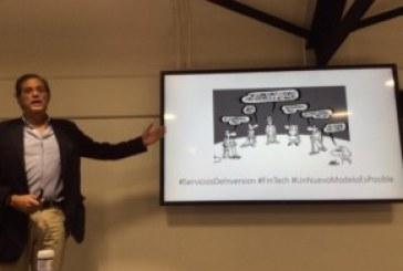 Tweet Resumen de la presentacion de FINTECH SPAIN