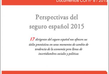 Perspectivas del seguro español 2015