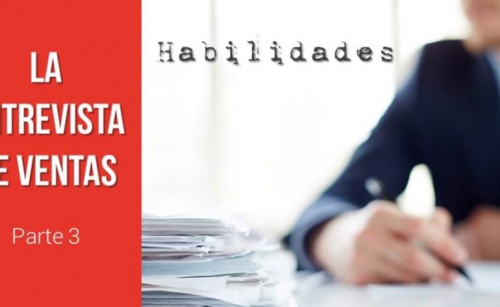 Habilidades en la Entrevista de Ventas (parte 1)