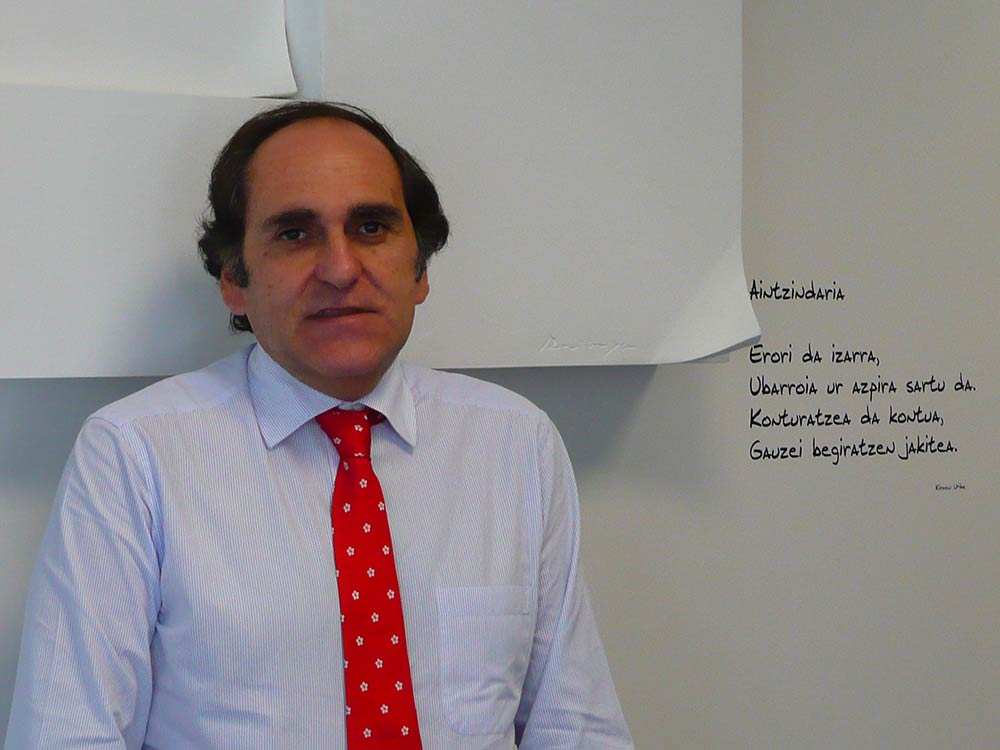 Sabin Azua, socio director de