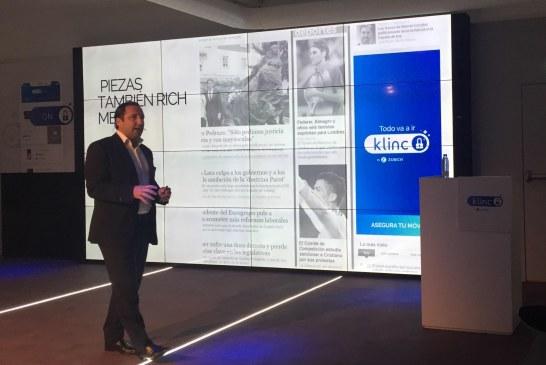 """Klinc, la nueva generación de seguros """"On Demand"""" de Zurich"""