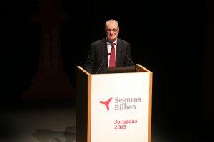 Javier Maiztegui, director general de Seguros Bilbao